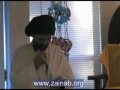 H.I. Abbas Ayleya - Short speech on Birthday of Sayyeda Zahra s.a. - English